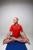 08232011 - Seattle University, George Makarenko, alumnus, yoga teacher, brain book, Seattle University Magazine Wellness package