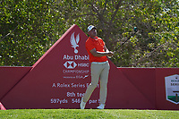 Shaun Norris (RSA) on the 8th tee during Round 1 of the Abu Dhabi HSBC Championship 2020 at the Abu Dhabi Golf Club, Abu Dhabi, United Arab Emirates. 16/01/2020<br /> Picture: Golffile | Thos Caffrey<br /> <br /> <br /> All photo usage must carry mandatory copyright credit (© Golffile | Thos Caffrey)