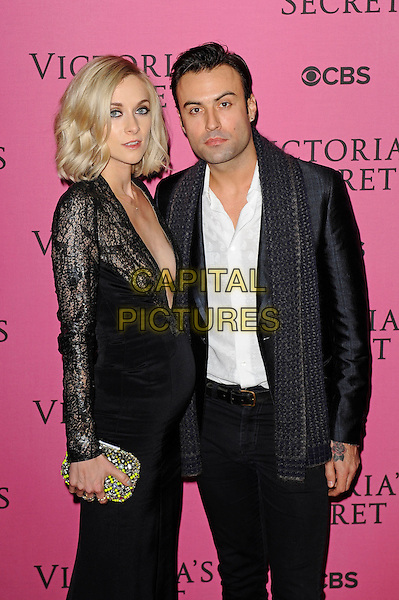 LONDON, ENGLAND - DECEMBER 2: Portia Freeman and Pete Denton attend the pink carpet for Victoria's Secret Fashion Show 2014, Earls Court on December 2, 2014 in London, England.<br /> CAP/MAR<br /> &copy; Martin Harris/Capital Pictures