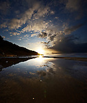Clouds at Sunset, Totland Bay, Isle of Wight, UK.
