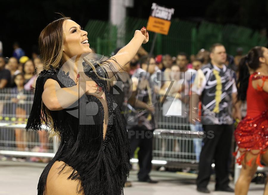 SAO PAULO, SP, 13.012018 - CARNAVAL-SP - Ensaio técnico da escola de samba Gavioes da Fiel para o Carnaval 2018, no Sambódromo do Anhembi em São Paulo (SP), neste sábado (13). (Foto: Paulo Guereta/Brazil Photo Press)