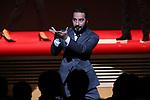 "Navid Mohammadzadeh, November 05, 2019 - Navid Mohammadzadeh, speak after winning ""Award for Best Actor"" for the film ""Just 6.5 [Metri Shesh Va Nim]""during the 32nd Tokyo International Film Festival, award ceremony, in Tokyo, Japan on November 05, 2019. (Photo by 2019 TIFF/AFLO)"