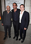 Richard Schiff, Bobby Cannavale and Jeremy Shamos attending the Broadway Opening Night Performance of 'An Enemy of the People' at the Samuel J. Friedman Theatre in New York. Sept. 27, 2012