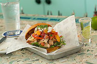 Korean Chicken BBQ Torta<br />