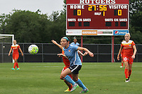 Piscataway, NJ - Saturday July 09, 2016: Erin Simon during a regular season National Women's Soccer League (NWSL) match between Sky Blue FC and the Houston Dash at Yurcak Field.