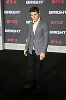 WESTWOOD, CA - DECEMBER 13: Nolan Gerard Funk, at Premiere Of Netflix's 'Bright' at The Regency Village Theatre, In Hollywood, California on December 13, 2017. Credit: Faye Sadou/MediaPunch /NortePhoto.com NORTEPHOTOMEXICO