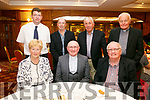 A Farewell celebration for Fr Patsy of St. Brendans Parish at Meadowlands Hotel on Thursday. Pictured front l-r Mairead Fernane, Fr Patsy Lynch,  Tim Guiheen Back l-r Pat O'Connor, Michael Hickey, Billy Looney and Fr James Linnane