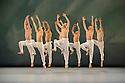 London, UK. 09.03.2015. English National Ballet presents an evening of three Modern Masters, at Sadler's Wells. This piece is SPRING AND FALL, by John Neumeier. The dancers are: Alejandro Virelles, Shiori Kase, James Forbat, Ksenia Ovsyanick, Ken Saruhashi, Anjuli Hudson, Laurent Liotardo, Angela Wood, Daniele Silingardi, Katja Khaniukova, Precious Adams, Yoko Callegari, Kei Akahoshi, Sarah Kundi, Jeanette Kakareka, Alina Cojocaru, Cesar Corrales, Anton Lukovkin, Francisco Bosch, Barry Drummond, Grant Rae.  Photograph © Jane Hobson.