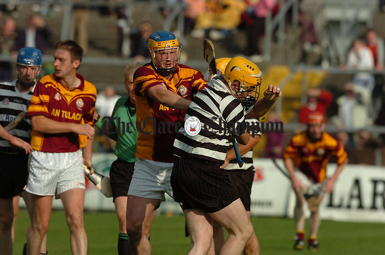 Clare Senior Hurling Championship Semi Final Tulla v Clarecastle at Cusack Park.Pic Arthur Ellis.