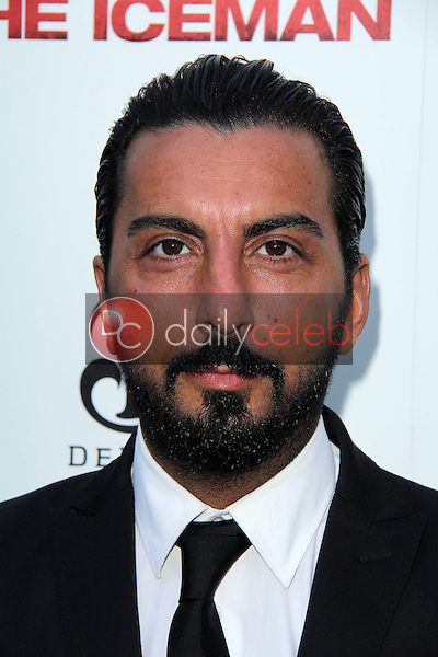 """Danny A. Abeckaser<br /> at """"The Iceman"""" Red Carpet, Arclight Theater, Hollywood, CA 04-22-13<br /> David Edwards/DailyCeleb.Com 818-249-4998"""