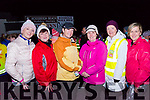 Joining the 04.15am Walk for Hope in Glenbeigh are:<br /> L-R Fiona Hyde, Miriam Davidson, Catherine Evans, Bridie Evans, Geraldine Mangan &amp; Clodagh Whittleton.