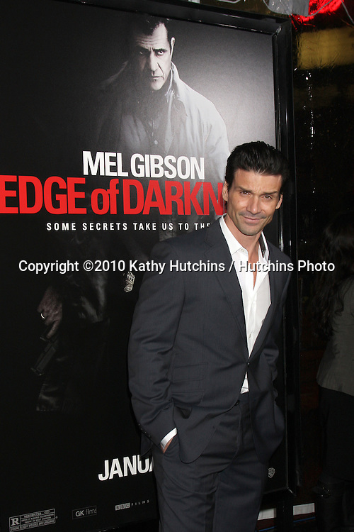 """Frank Grillo.arriving at the premiere of the """"Edge of Darkness"""".Grauman's Chinese Theater.Los Angeles, CA.January 26, 2010.©2010 Kathy Hutchins / Hutchins Photo...."""