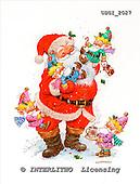 GIORDANO, CHRISTMAS SANTA, SNOWMAN, WEIHNACHTSMÄNNER, SCHNEEMÄNNER, PAPÁ NOEL, MUÑECOS DE NIEVE, paintings+++++,USGI2027,#X# stickers