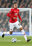 Chris Smalling of Manchester United during the Champions League Group A match at the Old Trafford Stadium, Manchester. Picture date: September 12th 2017. Picture credit should read: Andrew Yates/Sportimage