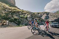 little group with Peter Sagan (SVK/Bora-Hansgrohe) & Philippe Gilbert (BEL/Quick Step floors) up the Comet de Roselend<br /> <br /> Stage 11: Albertville > La Rosière / Espace San Bernardo (108km)<br /> <br /> 105th Tour de France 2018<br /> ©kramon