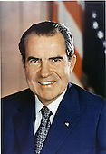 Portrait of the 37th President of the United States, Richard Milhous Nixon, taken in Washington, D.C. on July 25, 1972.<br /> Credit: White House via CNP