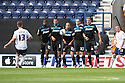 Joel Byrom of Preston fires a free-kick over the Stevenage wall<br />  - Preston North End v Stevenage - Sky Bet League One - Deepdale, Preston - 14th September 2013. <br /> © Kevin Coleman 2013