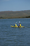 CA, california, kayakers at Tomales Bay, Point Reyes..Photo camari204.  .Photo Copyright: Lee Foster, www.fostertravel.com, 510-549-2202, lee@fostertravel.com