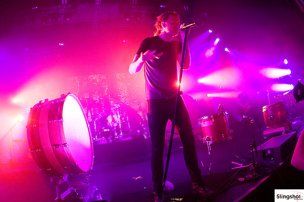 Imagine Dragons performs in concert at Comerica Theatre in Phoenix, Arizona on 6/3/13