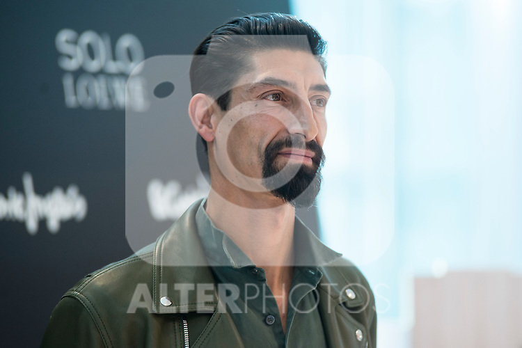 Paolo Henriques during the presentation of the new perfume SOLO LOEWE Cedro at El Corte Ingles Castellana in Madrid, October 06, 2015.<br /> (ALTERPHOTOS/BorjaB.Hojas)