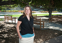 Professor Clair Morrissey, Aug. 12, 2010.<br />