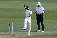 Mohammad Amir in bowling action for Essex during Essex CCC vs Middlesex CCC, Specsavers County Championship Division 1 Cricket at The Cloudfm County Ground on 26th June 2017