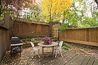 Patio at 41 West 84th Street