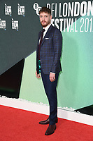 Billy Howle<br /> arriving for the London Film Festival 2017 screening of &quot;On Chesil Beach&quot; at the Embankment Garden Cinema, London<br /> <br /> <br /> &copy;Ash Knotek  D3324  08/10/2017