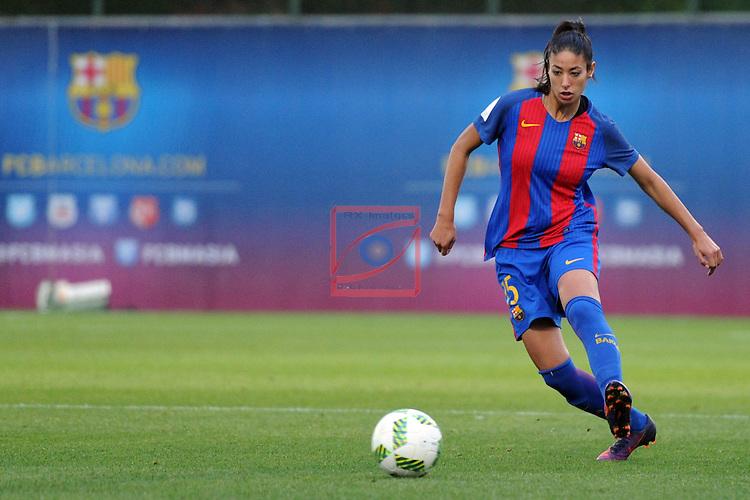 Spanish Women's Football League Iberdrola 2016/17 - Game: 11.<br /> FC Barcelona vs Athletic Club: 2-1.<br /> Leila Ouahabi.