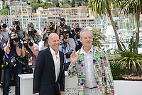 "Bruce Willis and Bill Murray attending the ""Moonrise Kingdom"" Photocall during the 65th annual International Cannes Film Festival in Cannes, 16th May 2012...Credit: Timm/face to face /MediaPunch Inc. ***FOR USA ONLY***"