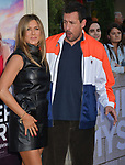 "Jennifer Aniston, Adam Sandler 041 arrives at the LA Premiere Of Netflix's ""Murder Mystery"" at Regency Village Theatre on June 10, 2019 in Westwood, California"