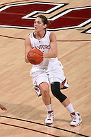 STANFORD, CA - DECEMBER 13:  Michelle Harrison of the Stanford Cardinal during Stanford's 100-62 win over the Fresno State Bulldogs on December 13, 2008 at Maples Pavilion in Stanford, California.
