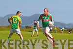 St Michaels Foilmores Sean O'Connor leaves Finuges Damien Kelly on the wrong foot and standing still.