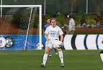 1 December 2006: North Carolina's Heather O'Reilly. The University of North Carolina Tarheels defeated the University of California Los Angeles Bruins 2-0 at SAS Stadium in Cary, North Carolina in an NCAA Division I Women's College Cup semifinal game.