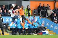 Josh Walker Of Barnet and Sam Walker Of Stockport County FC during Barnet vs Stockport County, Emirates FA Cup Football at the Hive Stadium on 2nd December 2018