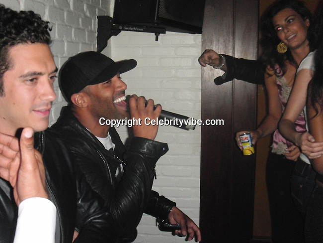 **EXCLUSIVE**.Singer Craig David..2009 VMA Awards Post Party Hosted by Unik..Cipriani Downtown..New York, NY, USA..Sunday, September 13, 2009. .Photo By Celebrityvibe.com.To license this image please call (212) 410 5354; or Email: celebrityvibe@gmail.com ;.website: www.celebrityvibe.com