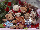 Interlitho, CUTE ANIMALS, teddies, paintings+++++,bears,red roses,KL16367,#ac#