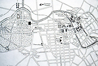 Berlin: Central City in the Imperial Era:  Plan from F. Roy Willis, WESTERN CIVILIZATION. Reference only.