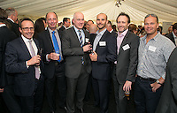 Pictured from left are Scott Davidson of Henry Davidson Developments, Ray Valenti of Ray Valenti Property Consultants, Harvey Lay and Damian Middleton both of Henry Davidson Developments, Colin Walker of Three Sixty Project Management and James Frith of JMF Chartered Architects