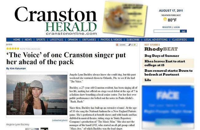 Cranston Herald - 2011
