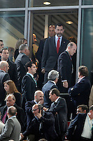 Prince Felipe of Spain during the Handball World Champioship inauguration, match between Spain and Algeria. January 11, 2013. (ALTERPHOTOS/Caro Marin) /NortePhoto