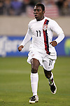 20 March 2008: Freddy Adu (USA) (11). The United States U-23 Men's National Team defeated the Canada U-23 Men's National Team 3-0 at LP Field in Nashville,TN in a semifinal game during the 2008 CONCACAF Men's Olympic Qualifying Tournament. With the victory, the United States qualified for the 2008 Beijing Olympics.