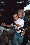 Robert Blake and Sally Kirkland attend a party at the house of Dale Olson in Los Angeles, California on<br />August 1, 1988.