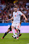 Jorge Koke of Spain in action during the International Friendly 2018 match between Spain and Argentina at Wanda Metropolitano Stadium on 27 March 2018 in Madrid, Spain. Photo by Diego Souto / Power Sport Images
