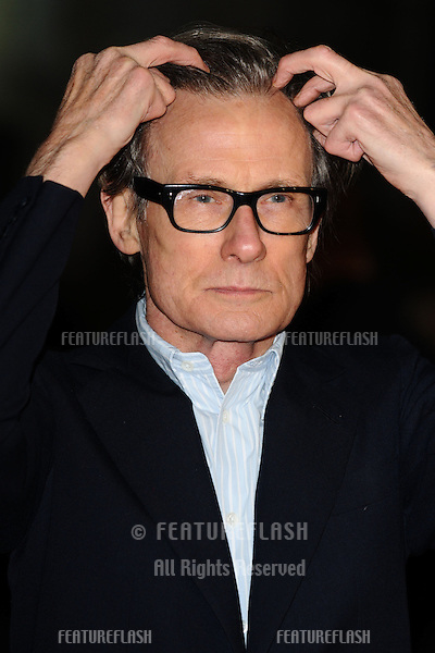 "Bill Nighy arrives for the ""Jack Reacher"" premiere at the Odeon Leicester Square, London. 10/12/2012 Picture by: Steve Vas / Featureflash"