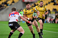 Hurricanes&rsquo; Ricky Riccitelli in action during the Super Rugby - Hurricanes v Lions at Westpac Stadium, Wellington, New Zealand on Saturday 5 May 2018.<br /> Photo by Masanori Udagawa. <br /> www.photowellington.photoshelter.com