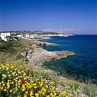 Italy, Puglia, coastline near Capo Santa Maria Di Leuca | Italien, Apulien, Kueste bei Capo Santa Maria Di Leuca