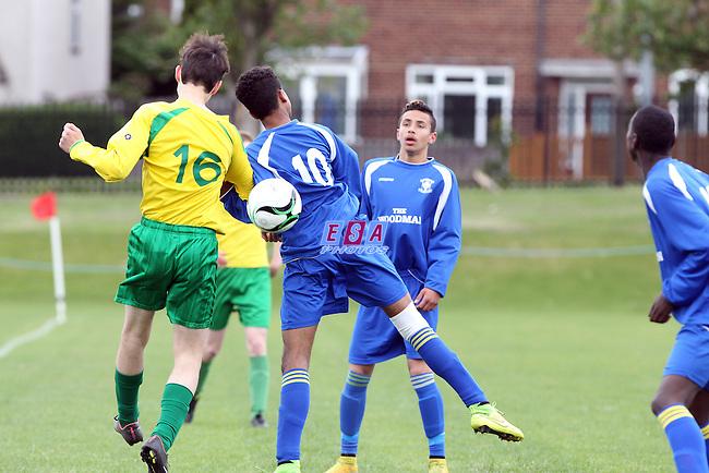 WESTSIDE v FFK ATHLETIC<br /> LONDON SATURDAY YOUTH LEAGUE U16 CUP FINAL SATURDAY 23RD MAY 2015 LONG LANE FC