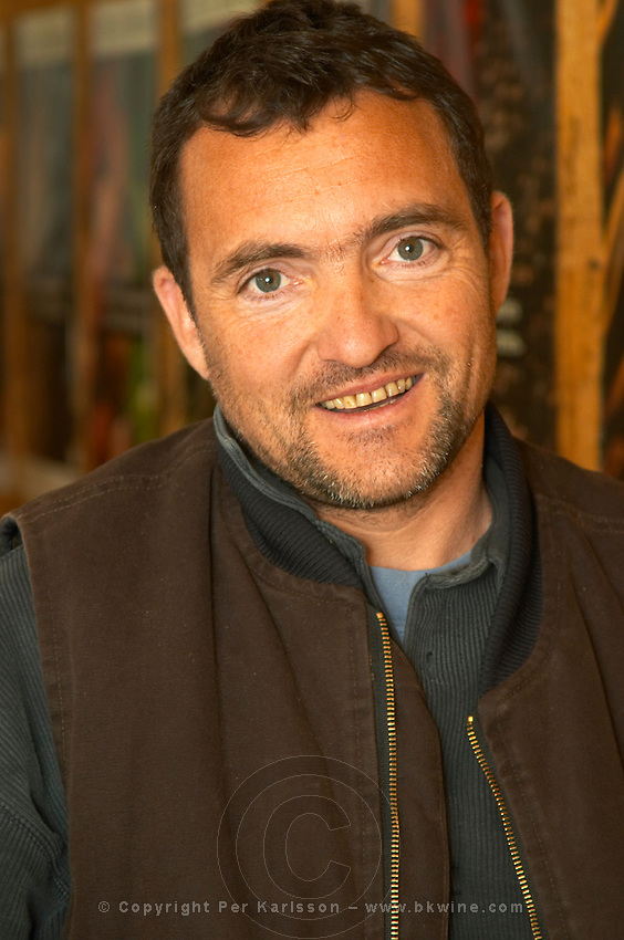 Yves Cuilleron, owner and winemaker.  Domaine Yves Cuilleron, Chavanay, Ampuis, Rhone, France, Europe