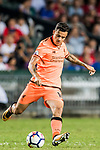 Liverpool FC midfielder Philippe Coutinho in action during the Premier League Asia Trophy match between Liverpool FC and Crystal Palace FC at Hong Kong Stadium on 19 July 2017, in Hong Kong, China. Photo by Weixiang Lim / Power Sport Images